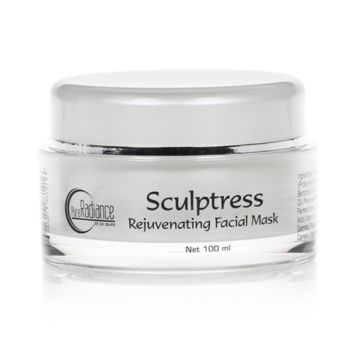 Sculptress Rejuvenating Facial Mask, All Natural Anti-Aging Skin